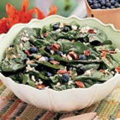 Blueberry Spinach Salad Allrecipes.com