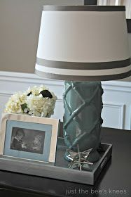 just the bee's knees: A thrifted lamp makeover