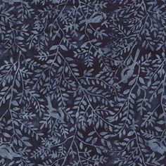Hemingway Tonga Batik Birds in the Hedgerow