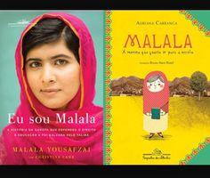 """Conforme anunciamos semana passada, toda quarta feira terá dicas literárias!  Iniciamos hoje com: """"Eu sou Malala"""": A história da garota que defendeu o direito à educação e foi baleada pelo Talibã."""