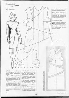 Pattern making - Dart and seam variation for dresses - Women's Cutter and…