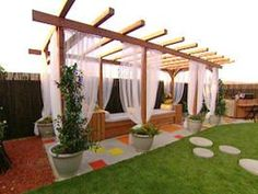 Build a Pergola For a Deck or Patio - on HGTV