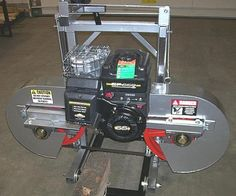 Portable sawmill bandsaw bandmill chain saw mill wood