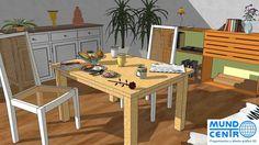Curso SketchUp para interiorismo y decoración