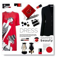 """The dress.."" by gul07 ❤ liked on Polyvore featuring Holly Fulton, Alberto Biani, Nine West, Little Liffner, Chanel, Christian Dior, Elizabeth Arden, The Collection by Phuong Dang, Gucci and dreamydresses"