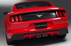 Rear View of 2016 Ford Mustang Mach 1 Concept #ford #mustang #mach #concept #cars http://autocarsblitz.com/2016-ford-mustang-mach-1-concept-prices-and-review/