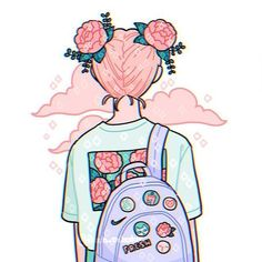 Draw this in your style: cutiepatoodie by Acisey on DeviantArt Aesthetic Drawing, Aesthetic Anime, Aesthetic Art, Arte Do Kawaii, Kawaii Art, Kawaii Drawings, Cute Drawings, Arte Copic, Japon Illustration