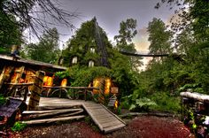 Magic Mountain Hotel � an Artificial Geyser in Nature Reserve, Chile