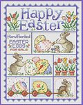 Happy Easter - Cross Stitch Pattern