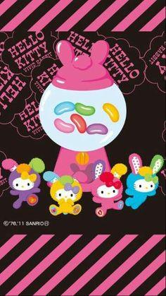 Jelly Bean Hello Kitty