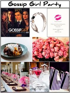 Gossip Girl Party - i would totally do this.... lol