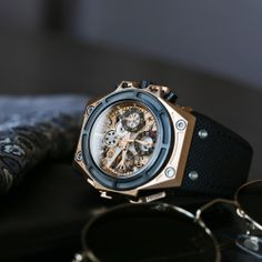 Linde Werdelin - SpidoSpeed Rosegold Black want this one pretty bad