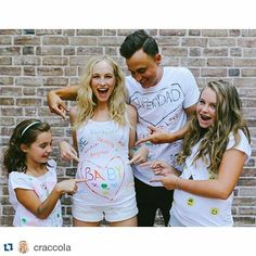 OMG!!! É oficial, Candice Accola está grávida!! Nada como começar a segunda com uma  notícia dessas  #candiceaccola #joeking #baby #mother #father #carolineforbes #thefray #thevampirediaries #tvd #vampirediaries