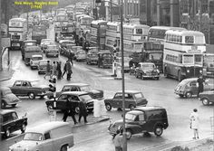 Hagley Road, five ways, 1966