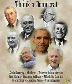 Men who cared. Thank you especially Obama