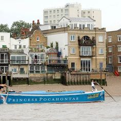 Pocahontas during the Annual Thames Barge Driving Match on Saturday.