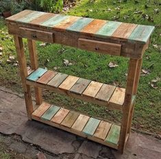 Pallets rustic entryway table diy wood projects in 2019 дере
