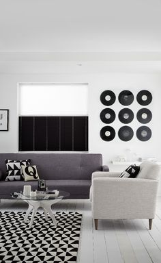 Modern Monochrome: Let your décor be inspired by catwalk trends                                                                                                                                                      More