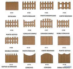 cercos de madera - Buscar con Google