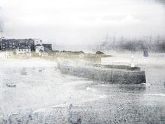 textile artist photography and mixed media - Carolyn Saxby Textile Art St Ives Cornwall Carolyn Saxby, St Ives, Art Archive, Textile Artists, Beach Art, Creative Inspiration, Textiles, Winter, Artwork