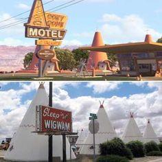 Una de las películas preferidas de los peques, Cars (2006), con numerosas localizaciones de la mític... - ELLE.es
