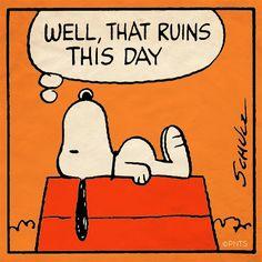 It's Monday, Snoopy.