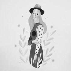 Behance :: Inktober 2015 by Rafael Mayani Heart Illustration, Character Illustration, Botanical Illustration, Graphic Illustration, Art Sketches, Art Drawings, Tinta China, Cute Art, Vector Art
