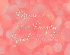Laura Winslow Photography Printable Dream Love Speak