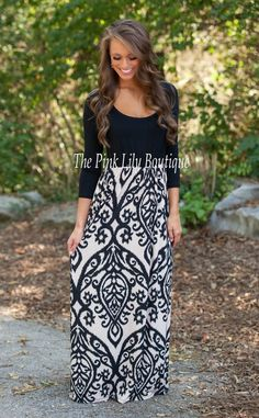 What I Live For Damask Maxi