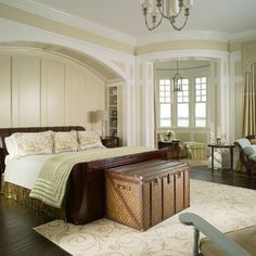 Bookcases Around Bed Design, Pictures, Remodel, Decor and Ideas