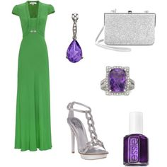 The Girl In Green, created by christina1969 on Polyvore