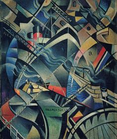 Futurism, the radical art movement dedicated to the hustle and bustle of modern city life, celebrates its anniversary with a new exhibition at Tate Modern. Framed Canvas Prints, Canvas Frame, Futurist Painting, Cyberpunk, Brave, Tate Modern Art, Giacomo Balla, Illustrator, Futurism Art