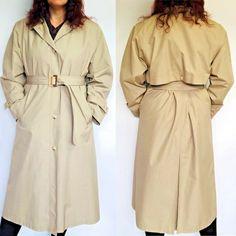 Ex New Look BeigeRaincoat Mac Trench Coat  Tie Waist Size 8 10 12 14
