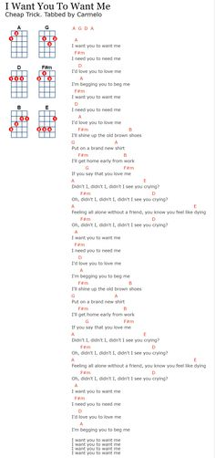 Learn to Play the Ukulele Online Ukulele Tuning, Cool Ukulele, Guitar Chords For Songs, Music Chords, Ukulele Tabs, Lyrics And Chords, Guitar Songs, Guitar Lessons, Music Lessons