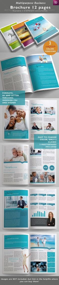 Multipurpose Business Brochure - GraphicRiver Item for Sale