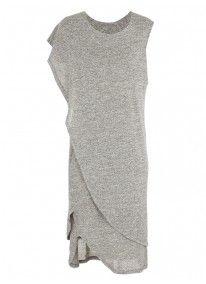 Tanya dress Grey (mid grey)
