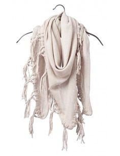 Creme scarf