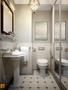 Интерьер санузла в квартире на ул. Гжатской / bathroom / bathroom decor / bathroom ideas / by Pevel Polinov Studio #design #interior #homedecor #interiordesign