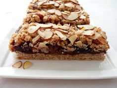 Fig & Chocolate Oatmeal Bars