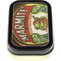 Vintage Marmite Jar Keepsake/Pill Tin Preview Marmite, Marketing Materials, Tins, Bottles, Hate, Lunch Box, My Love, Vintage, Primitive