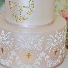 First Communion Cakes, Australia, Photo And Video, Tableware, Desserts, Instagram, Design, Tailgate Desserts, Dinnerware