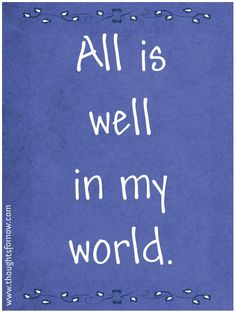 Daily Affirmations - Daily Positive Affirmations...believe, it will be.