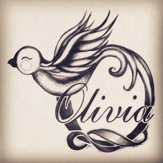 Bird tattoo - Olivia