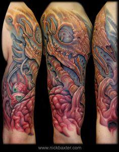 Nick Baxter : Custom Tattoo Galleries - Original Artwork