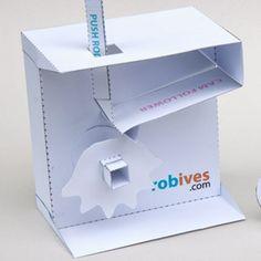 Paper Mechanisms you can purchase then download, print and assemble / Des mécanismes que vous pouvez acheter et ensuite télécharger, imprimer et monter