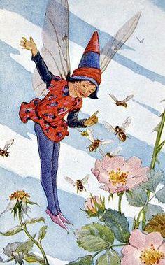 The honey-bee fairy -- Margaret Tarrant
