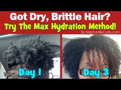 Interesting method but baking soda will destroy your hair. Maximum Hydration Method Results on Type 4 Hair