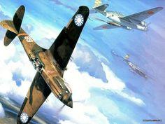 Curtiss P-40 Warhawk (Flying Tigers)