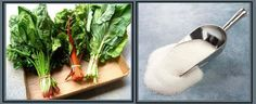 Tip: Add a pinch of sugar while #cooking any green leafy #vegetables. This will help maintain the bright green color.