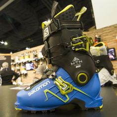 SIA-MTN-LAB-2015-salomon-touring-boot-AT Ski Gear, Trade Show, Touring, Gears, Skiing, Boots, Ski, Crotch Boots